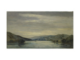 Coniston Water, 1838 Giclee Print by David Charles Read