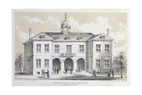 Old City Hall, New York, in 1776, from 'Valentine's Manual', Engraved by George Hayward, 1856 Giclee Print by David Grim
