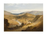 A Welsh Valley Giclee Print by Edmund John Niemann