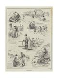 Seaside Sketches Wydruk giclee autor Edward Morant Cox