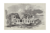 Remains of the Hospital in Sebastopol Giclee Print by Edward Angelo Goodall