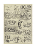 Royal Academy 1877, Pictures Prophesied Giclee Print by Edward Armitage