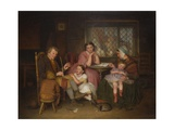 Grandfather's Tale, 1860 Giclee Print by Edward Thompson Davis