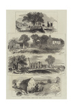 Sketches of Goldsmith's Deserted Village, Lishoy or Auburn, Near Athlone Giclee Print by Edmund Morison Wimperis