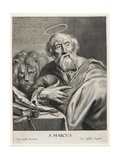 St. Mark Giclee Print by Cornelis Visscher