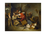 The Cheat Detected, 1814 Giclee Print by Edward Bird