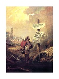 The Prospector, 1861-63 Giclee Print by David Gilmour Blythe