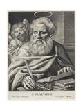 Hl. Matthäus Giclée-Druck von Cornelis Visscher
