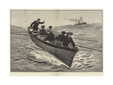 A Man Overboard Giclee Print by Edward Morant Cox