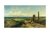 Near Atherstone Giclee Print by Edmund John Niemann