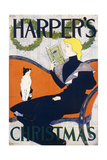 Harper's Christmas, 1894 Giclee Print by Edward Penfield