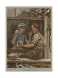 A Picture Without Words Giclee Print by Edward Killingworth Johnson