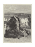Hagar Giclee Print by Edward Armitage