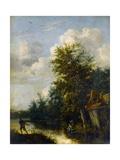 A Landscape, C.1650 Giclee Print by Cornelius Decker
