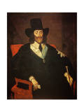 Portrait of King Charles I (1625-49) at His Trial (See also 162534 and 245466) Giclee Print by Edward Bower