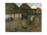 The Widow's Acre, C.1900 Giclee Print by Edward Stott