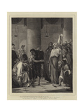 Law of Moses Giclee Print by Edward A. Armitage