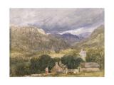 No.1273 Bettws-Y-Coed Giclee Print by David Cox