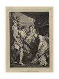 St Jerome Giclee Print by  Correggio