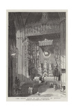 The Grand Altar of the Cathedral of Seville Giclee Print by David Roberts