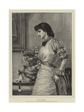 Doubts Giclee Print by Edward Frederick Brewtnall