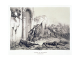 Ponce De Balagner at the Bab-Azoun Gate Giclee Print by Denis Auguste Marie Raffet