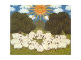 Sheep III Giclee Print by  Ditz