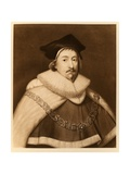 Sir Edward Coke, from 'James I and Vi', Printed by Manzi Joyant and Co. Paris, 1904 (Collotype) Giclee Print by Cornelius Janssen van Ceulen