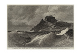 A Fresh Gale, Mount Orgueil, Jersey Giclee Print by Edwin Hayes
