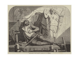 The Death of Jean Goujon Giclee Print by Edward Henry Wehnert