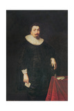 Portrait of Lord Baltimore Giclee Print by Daniel Mytens