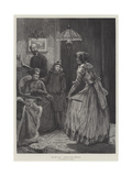 The New Step, a Drawing-Room Rehearsal Giclee Print by Edward Frederick Brewtnall