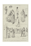 Registration of Foreigners in Paris at the Prefecture of Police Giclee Print by David Hardy