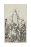 Cartoon, the Spirit of Religion Giclee Print by Edward A. Armitage