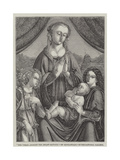 The Virgin Adoring the Infant Saviour Giclee Print by Domenico Ghirlandaio