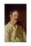 Robert Louis Stevenson (1850-94), 1892 Giclee Print by Count Girolamo Pieri Nerli