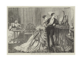 Scene from Lady Flora, at the Court Theatre Giclee Print by David Henry Friston