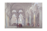 The Mosque at Cordova, 1833 Giclee Print by David Roberts
