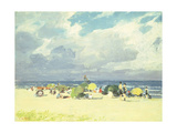 Purple Beach Scene Giclee Print by Edward Henry Potthast