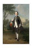 Portrait of Sir William Benett Giclee Print by Edward Penny