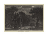 The Garden of Gethsemane Giclee Print by Edward A. Armitage