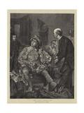 The Stage Waits, Sir Giclee Print by Edward Killingworth Johnson