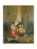 The Trio, 1829 Giclee Print by Edward Villiers Rippingille