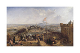 Edinburgh Old and New (Panel) Giclee Print by David Octavius Hill