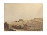 Haymaking, C.1808 Giclee Print by David Cox