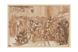 The Mocking of Christ Giclee Print by  Domenichino