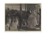 After the Party Giclee Print by Edward Frederick Brewtnall