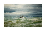 Sea-Piece, 1882 Giclee Print by David James