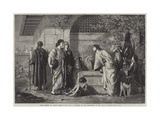 The Parents of Christ Seeking Him Giclee Print by Edward A. Armitage