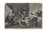 Esther's Banquet Giclee Print by Edward Armitage